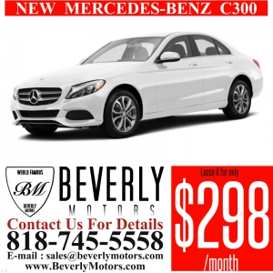 Glendale Auto Leasing and Sales,New Car Lease in Glendale burbank los angeles pasadena beverly hills west hollywood - NEW Mercedes-Benz C300 Lease Special