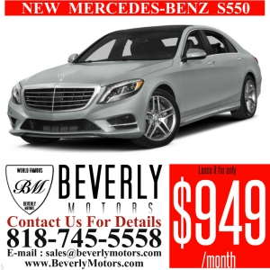 Glendale Auto Leasing and Sales,New Car Lease in Glendale burbank los angeles pasadena beverly hills west hollywood - NEW Mercedes-Benz S550 Lease Special