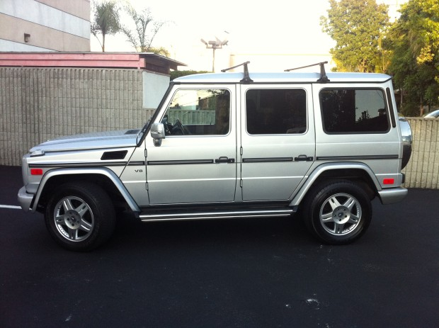 2003 mercedes benz g500 silver for sale for 2013 mercedes benz g class for sale