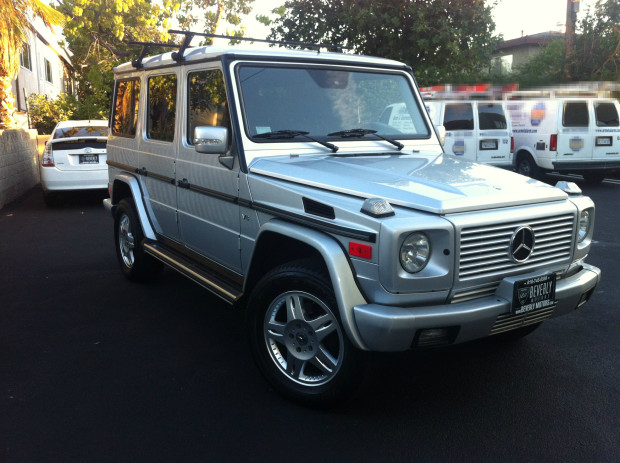 2003 mercedes benz g500 silver for sale. Black Bedroom Furniture Sets. Home Design Ideas