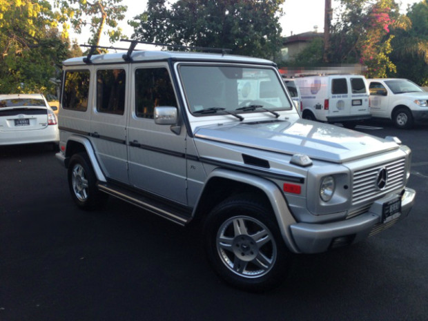 2003 mercedes benz g500 silver for sale for Mercedes benz g class 2013 price