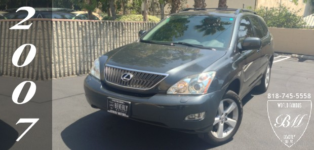 Glendale Auto Leasing and Sales,New Car Lease in Glendale burbank los angeles pasadena beverly hills west hollywood - 2007 Lexus RX350 For Sale1