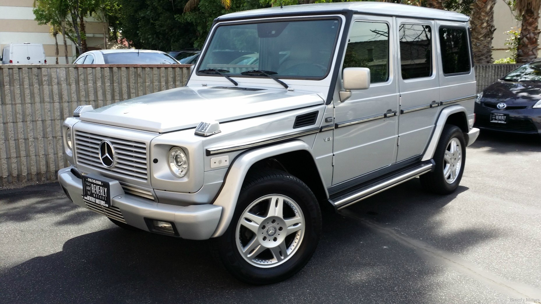 2002 mercedes benz g500 for sale beverly motors inc On 2002 mercedes benz g500 for sale