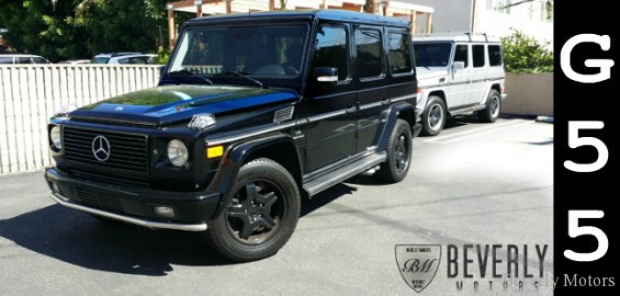 2005 mercedes benz g55 amg for sale beverly motors inc for Beverly hills mercedes benz used cars
