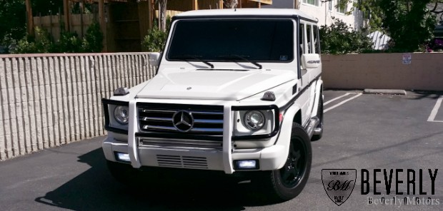 2002 Mercedes-Benz G500 White Black G wagon Gwagen Gelik For Sale Glendale Auto Leasing and Sales, Burbank LA beverly hills west hollywood (00)