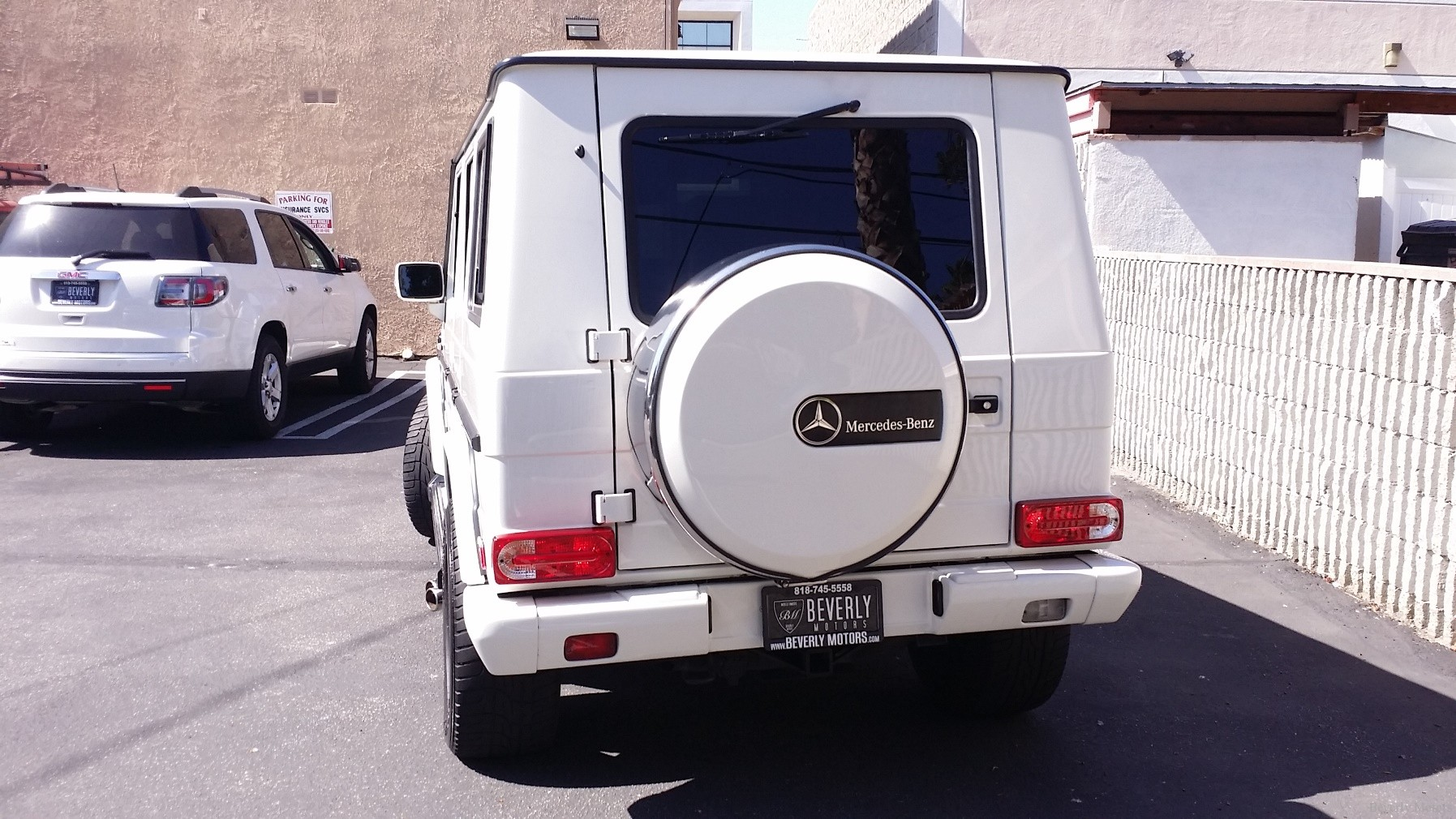 2002 mercedes benz g500 white on black for sale beverly for 2002 mercedes benz g500