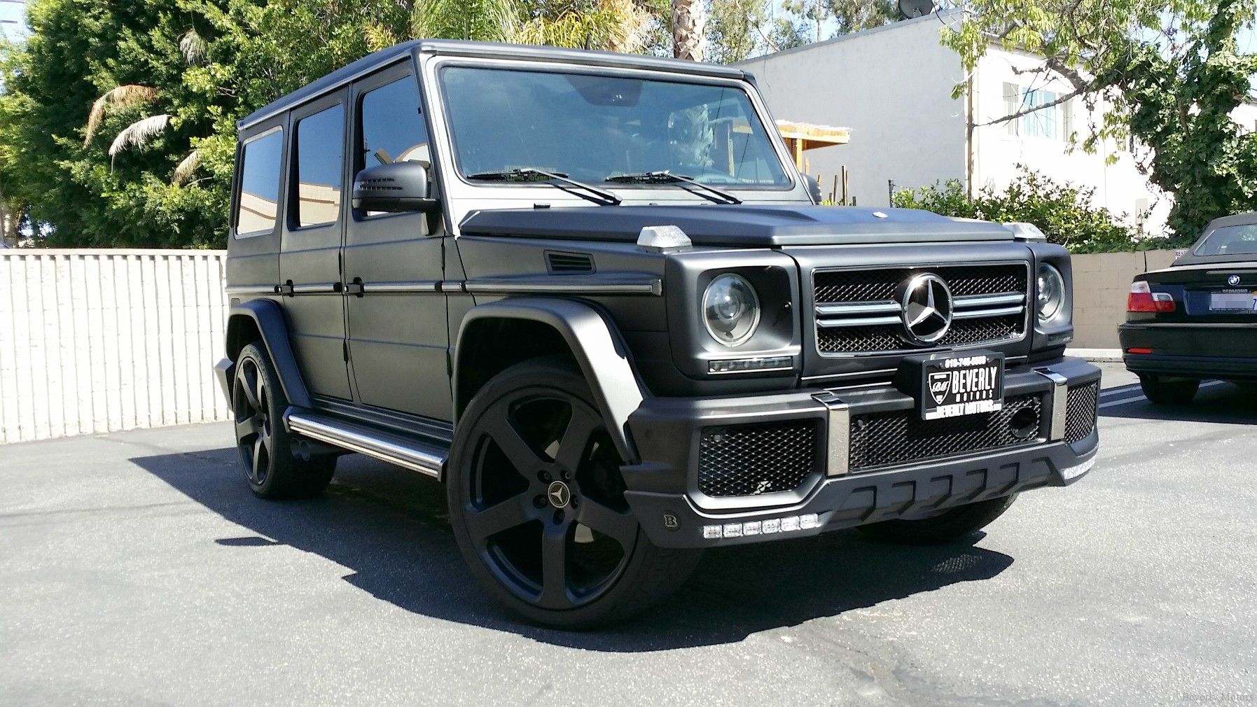 2002 mercedes benz g500 for sale beverly motors inc for Mercedes benz g500