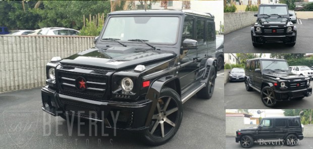 2002 Mercedes-Benz G500 WALD Black on Black G63 AMG biturbo wagon Gwagen Gelik For Sale Glendale Auto Leasing and Sales, Burbank LA beverly hills west hollywood (1)
