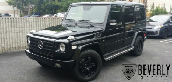 2003 mercedes benz g500 for sale beverly motors inc for All black mercedes benz g wagon