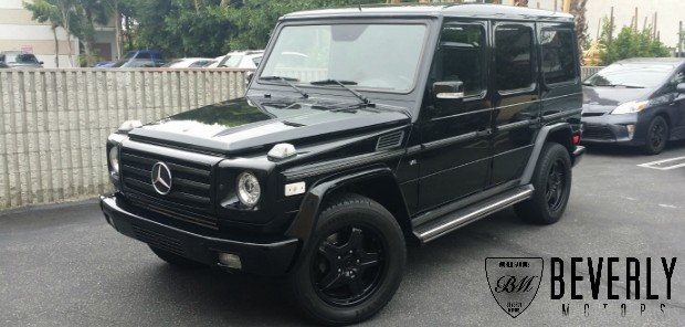 2003 Mercedes-Benz G500 Black on Black G63 AMG biturbo wagon Gwagen Gelik For Sale Glendale Auto Leasing and Sales, Burbank LA beverly hills west hollywood