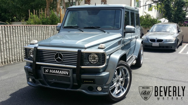 2005 mercedes benz g500 hamann for sale beverly motors for Mercedes benz lease los angeles