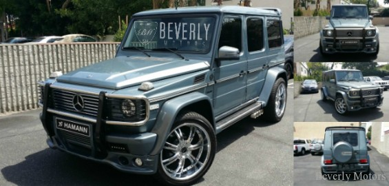 2005 Mercedes Benz G500 Hamann For Sale Beverly Motors
