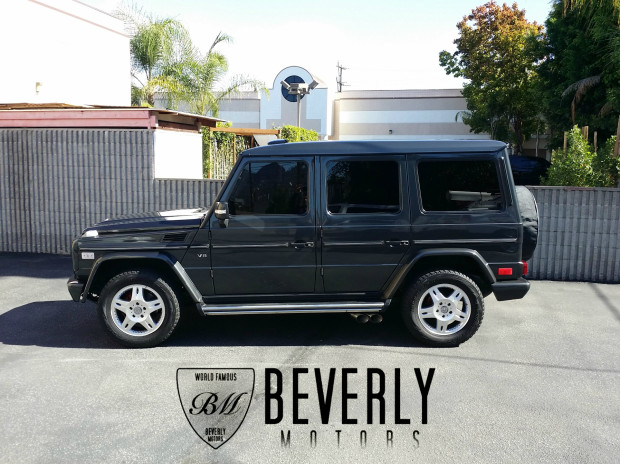 2003 mercedes benz g500 g55 for sale gray on black for Mercedes benz truck leasing