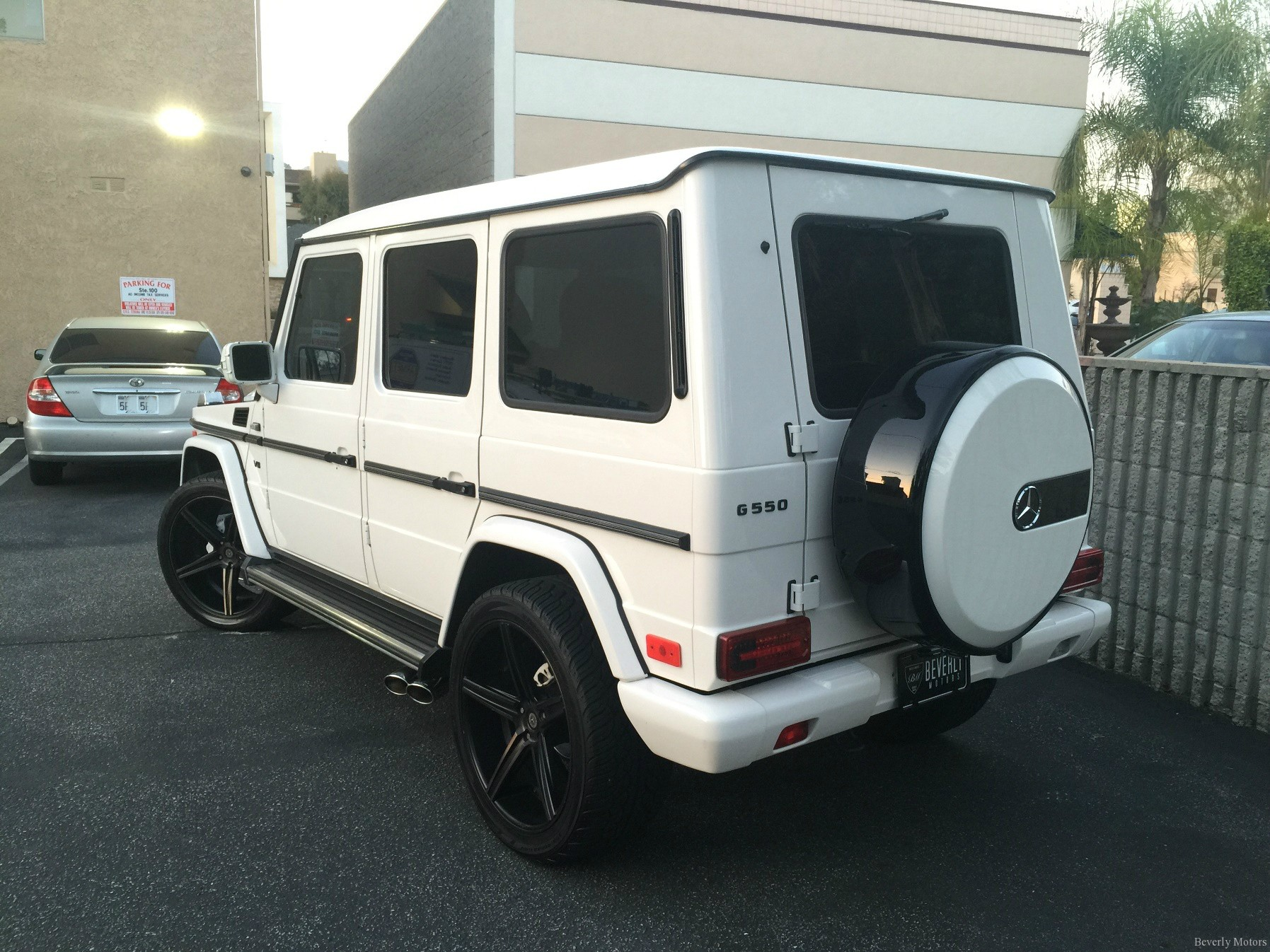 2002 mercedes benz g500 for sale white on black beverly for Mercedes benz g550 price