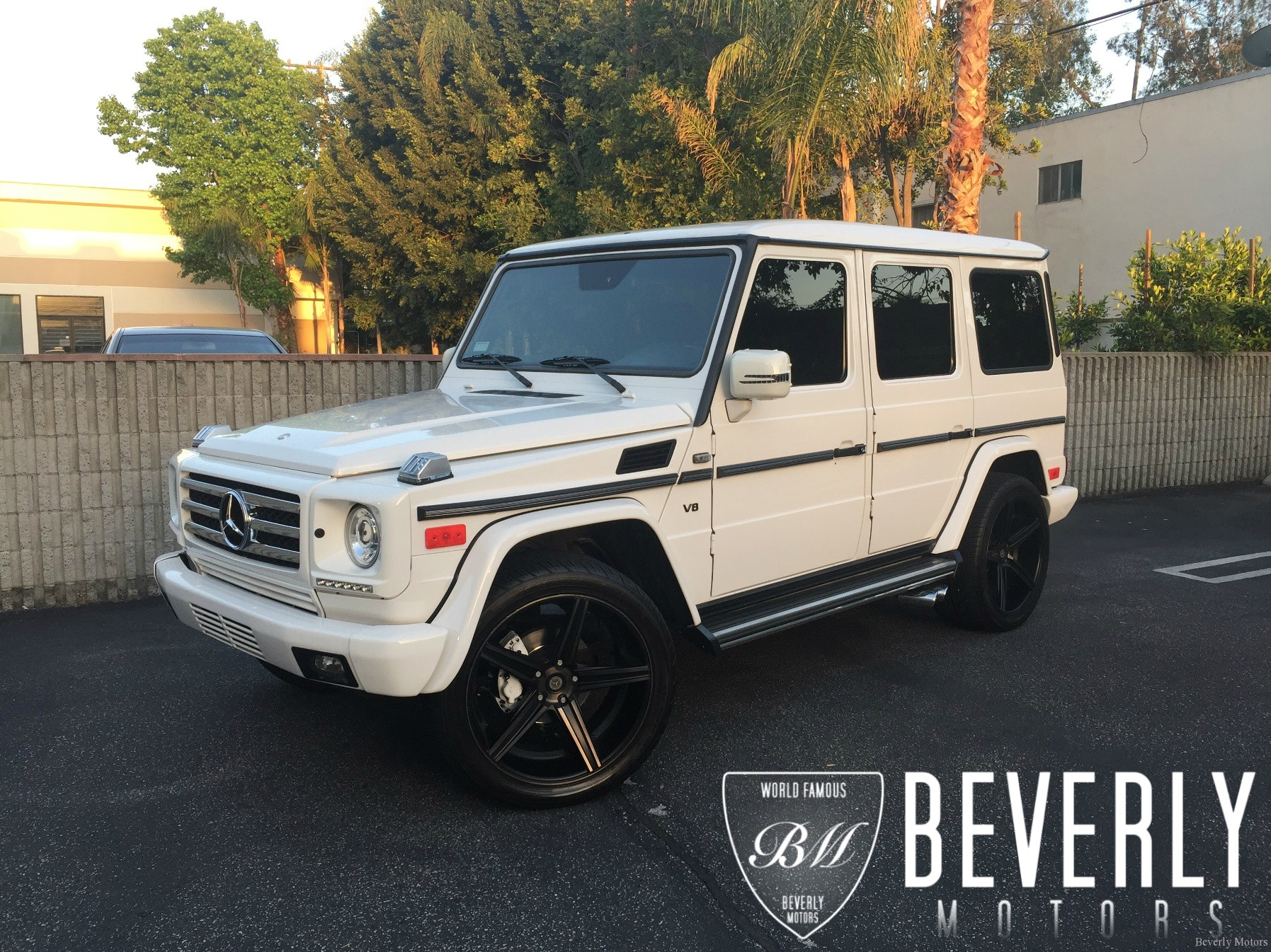 2002 mercedes benz g500 white on black g55 g550 amg brabus gwagon gwagen gelik wald black bison hamann g class for sale 66