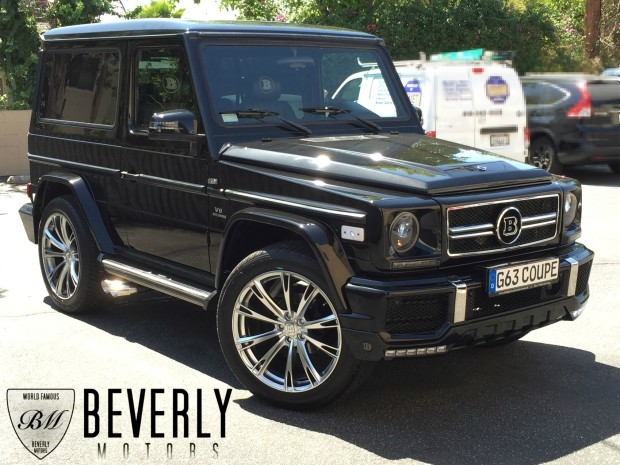 2001 mercedes benz g320 coupe brabus for sale for Mercedes benz g class cabriolet for sale