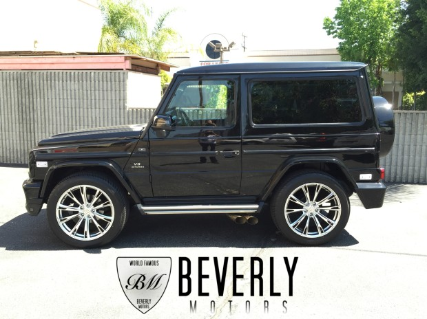 Mercedes Benz Houston North >> 2001 Mercedes-Benz G320 Coupe BRABUS For Sale