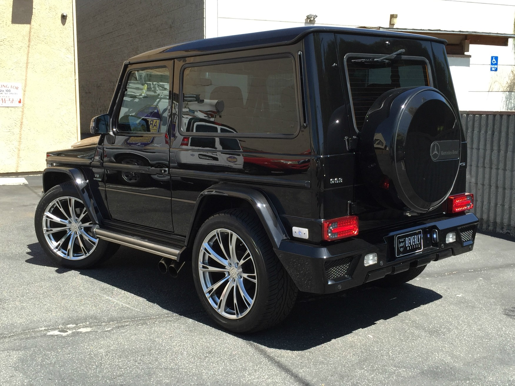 2001 mercedes benz g320 coupe brabus for sale beverly. Black Bedroom Furniture Sets. Home Design Ideas