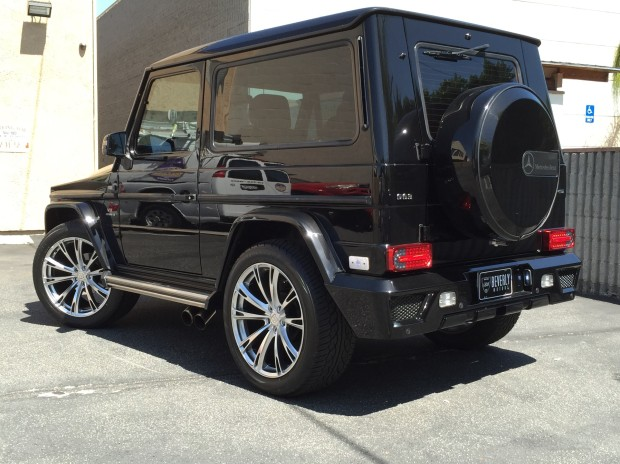 2001 mercedes benz g320 coupe brabus for sale for Mercedes benz g class cabriolet