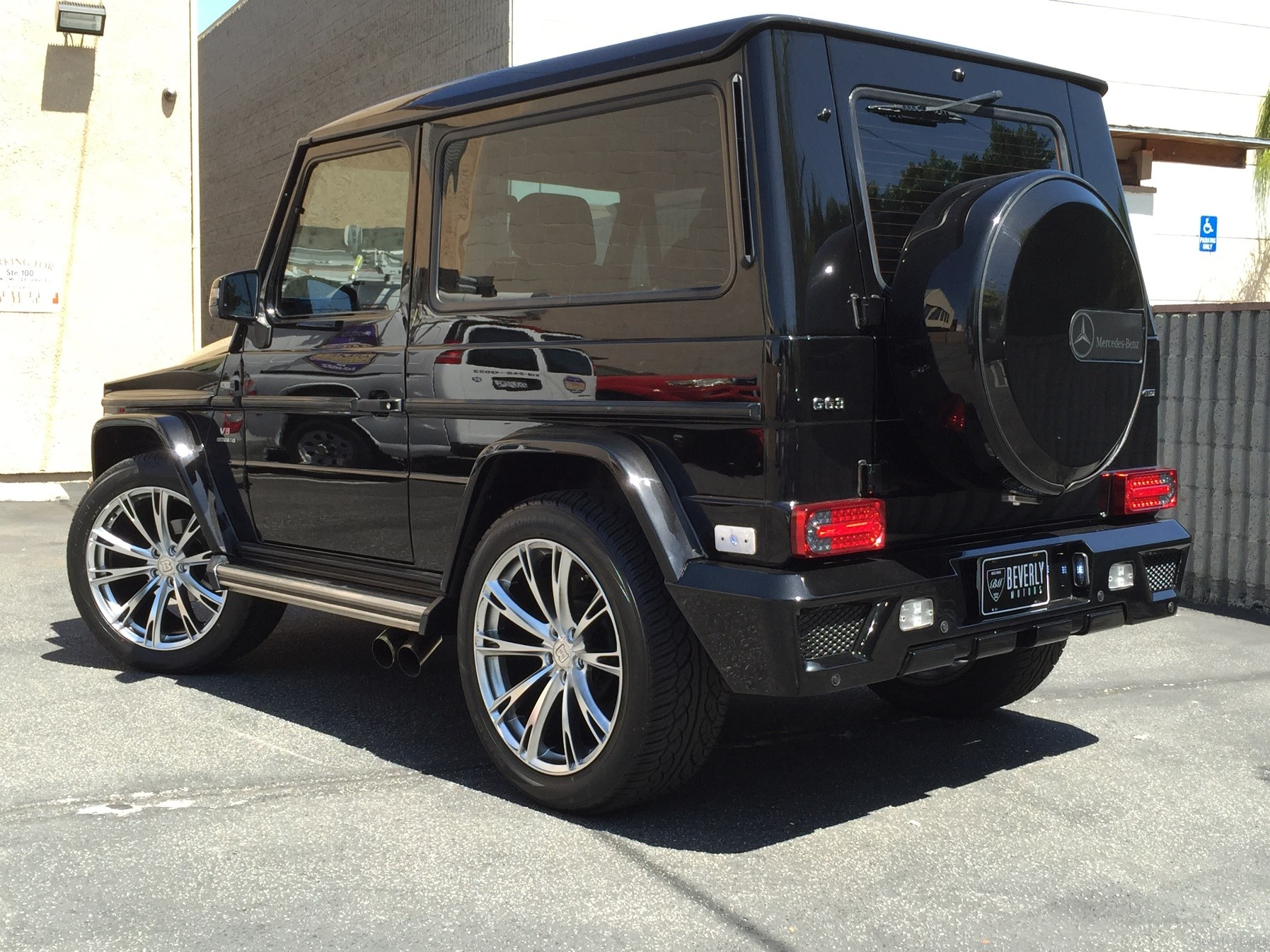 2001 mercedes benz g320 coupe brabus for sale beverly motors inc glendale auto leasing and. Black Bedroom Furniture Sets. Home Design Ideas