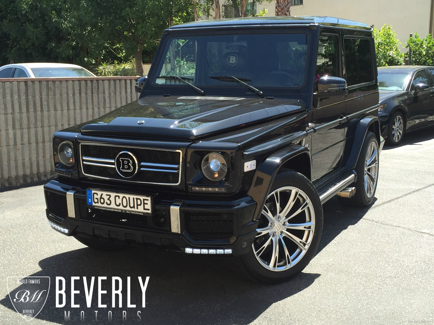 2001 mercedes benz g320 coupe brabus for sale beverly for Mercedes benz g class brabus