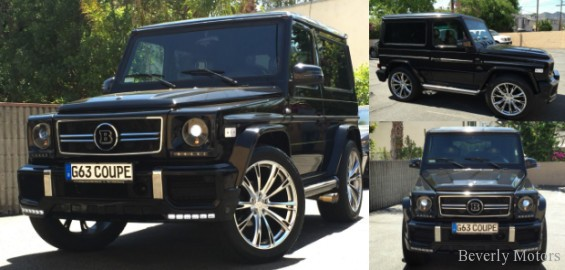 2001 mercedes benz g320 coupe brabus for sale beverly for G class mercedes benz for sale