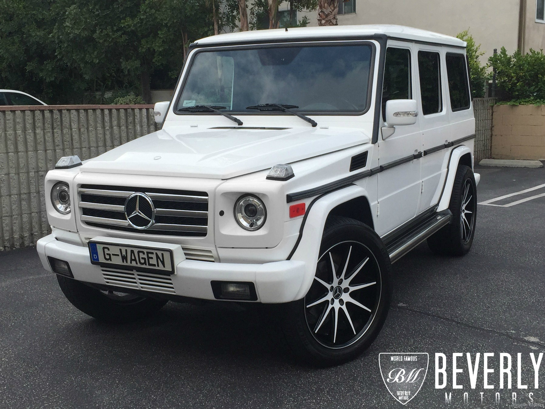 2005 mercedes benz g500 for sale white on black beverly for Mercedes benz g class sale