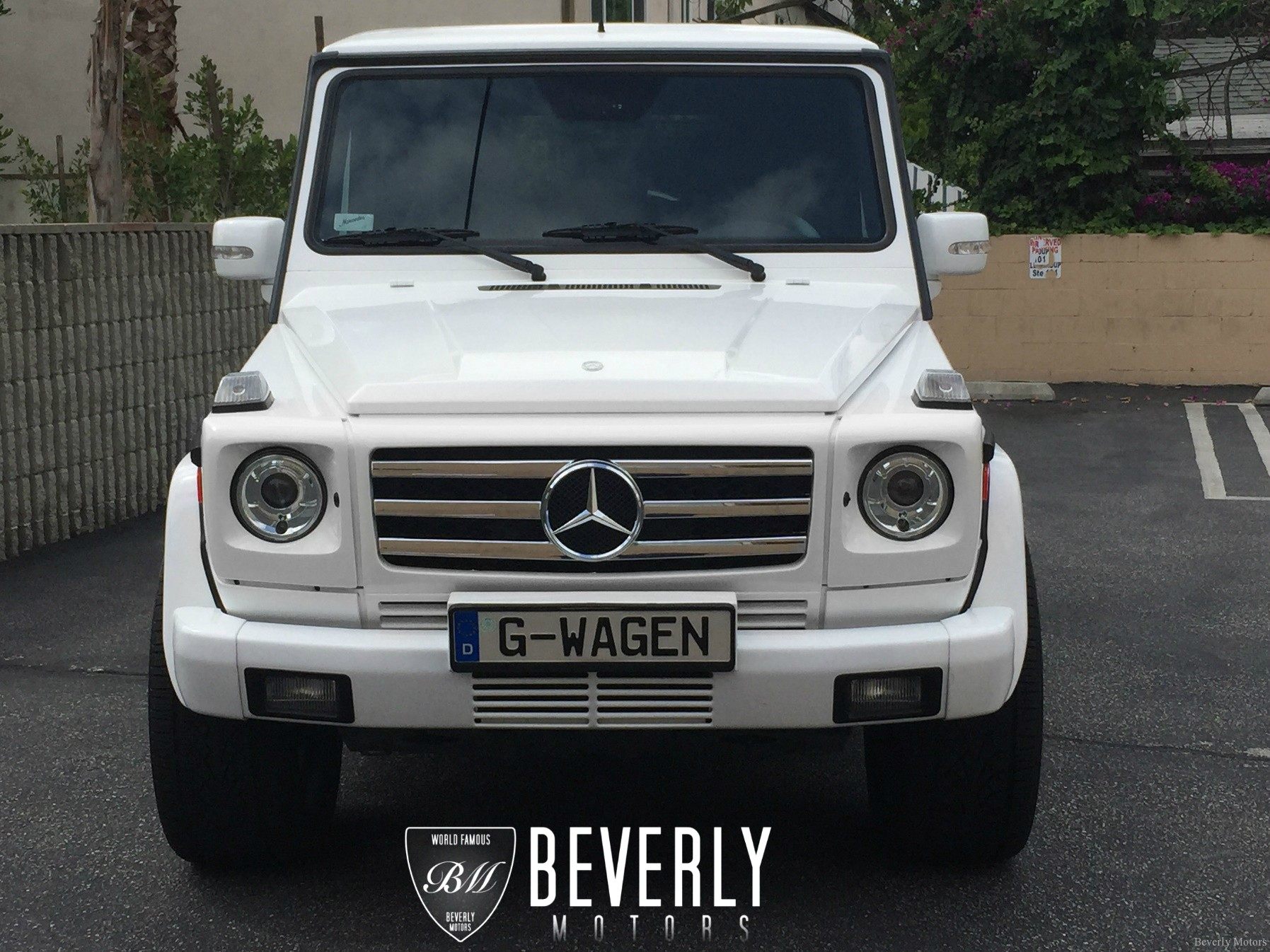 2005 mercedes benz g500 for sale white on black beverly for Mercedes benz 2005 for sale