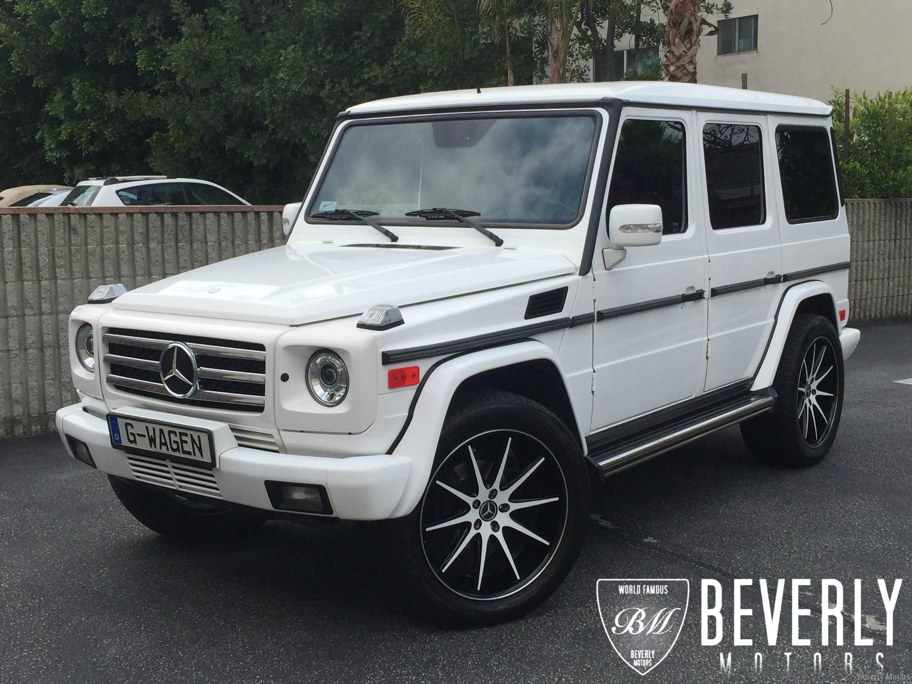 2005 mercedes benz g500 white on black g55 g550 amg brabus gwagon gwagen gelik wald black bison hamann g class for sale 2