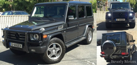 2005 mercedes benz g500 for sale grey on black beverly for Mercedes benz g series for sale