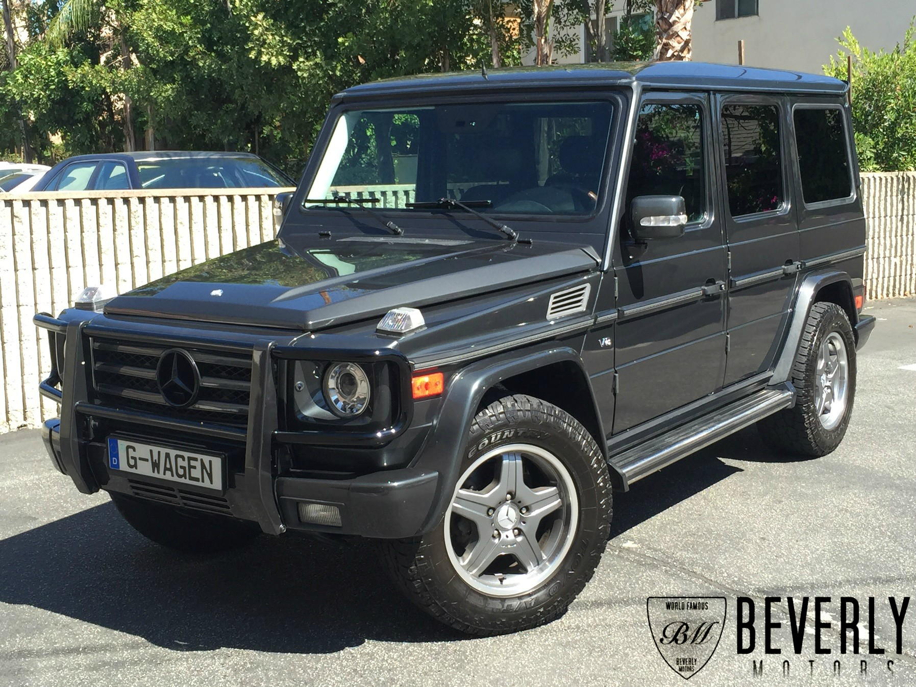 2005 mercedes benz g500 for sale grey on black beverly. Black Bedroom Furniture Sets. Home Design Ideas