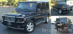 2003 Mercedes-Benz G55 AMG Designo Black on Black G55 G550 AMG Brabus Gwagon WALD Black Bison Hamann G class For Sale