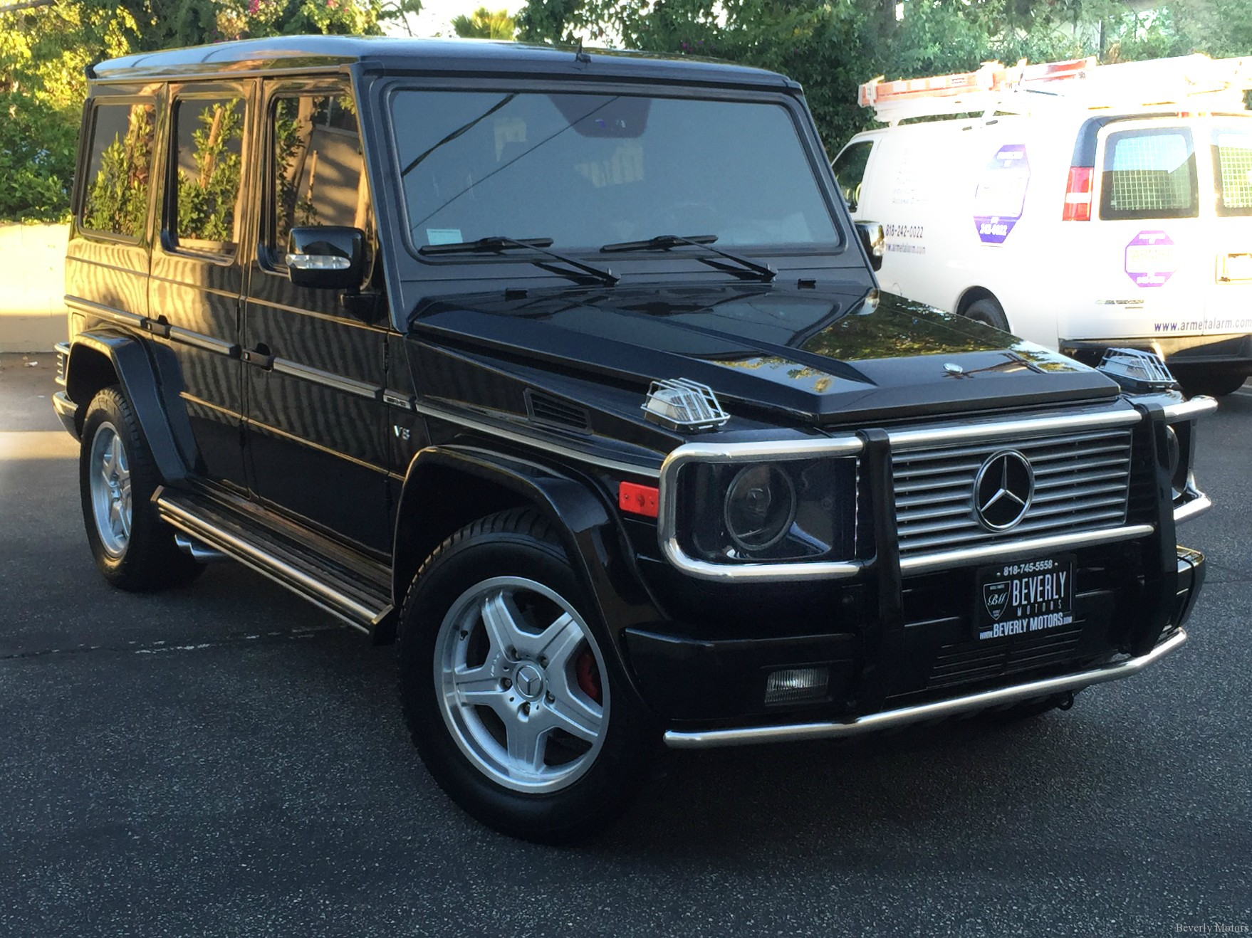 2003 mercedes benz g55 amg designo black on black for sale