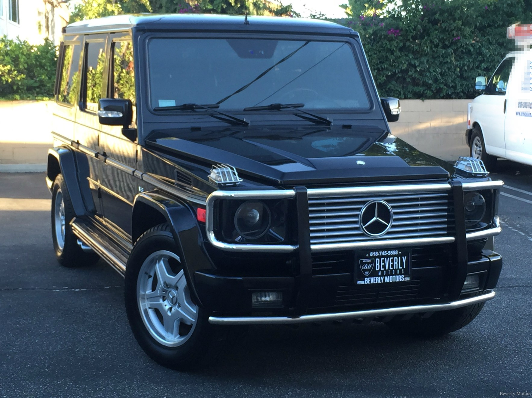 2003 mercedes benz g55 amg designo black on black for sale for Benz mercedes for sale