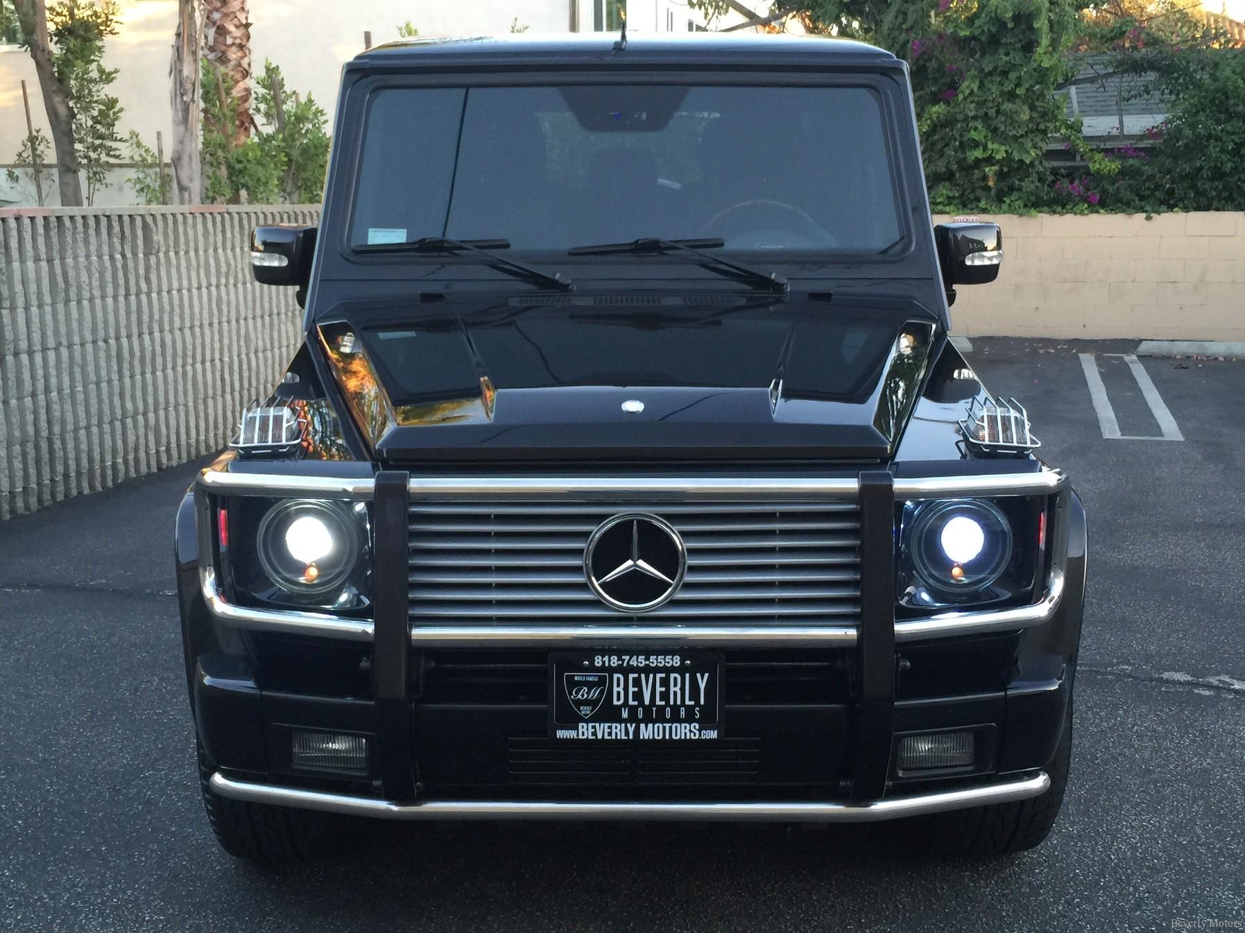 2003 mercedes benz g55 amg designo black on black for sale for Mercedes benz glendale