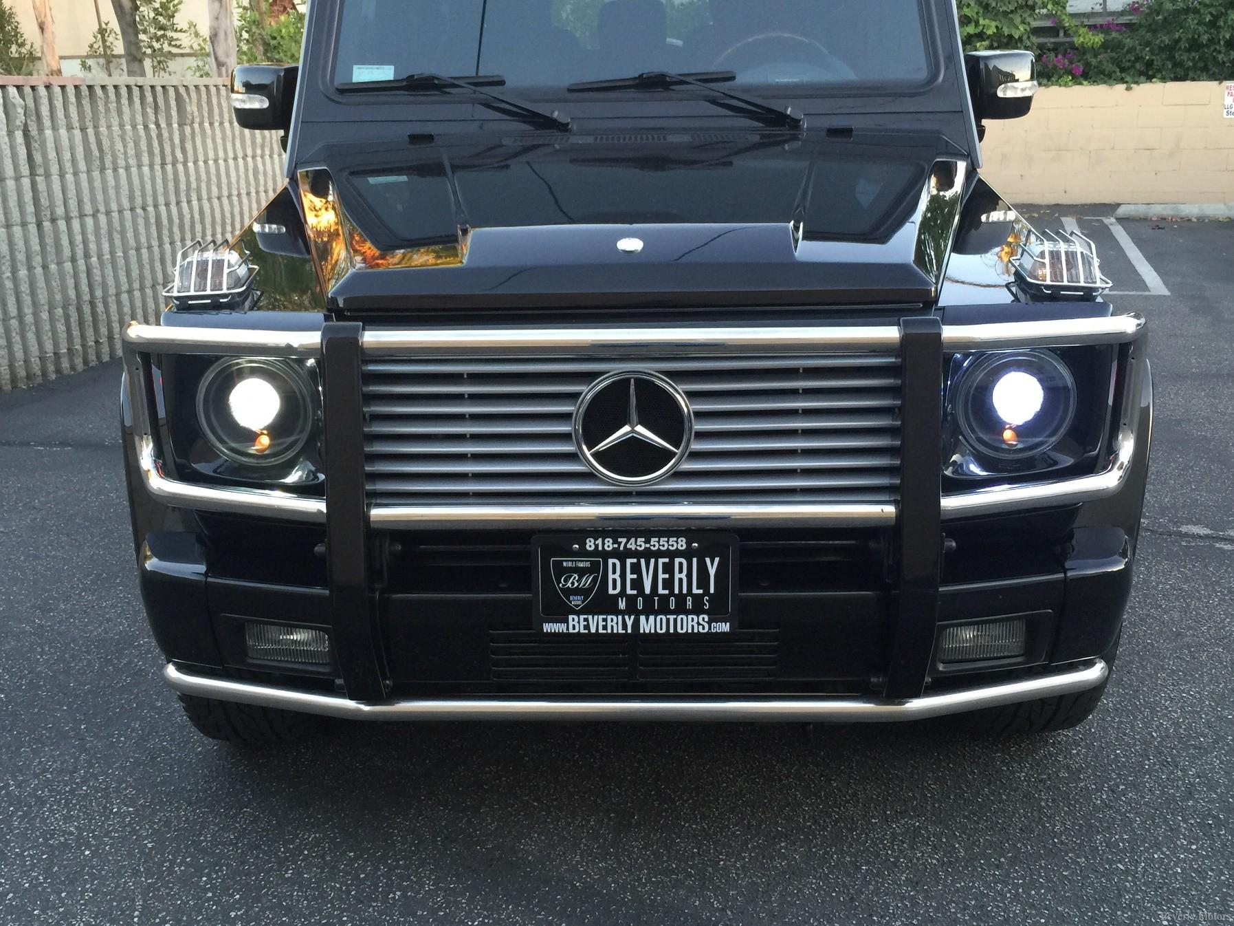 2003 Mercedes Benz G55 Amg Designo Black On Black For Sale