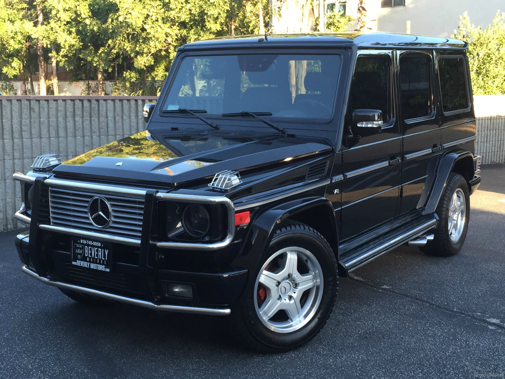 2003 mercedes benz g55 amg designo black on black for sale. Black Bedroom Furniture Sets. Home Design Ideas
