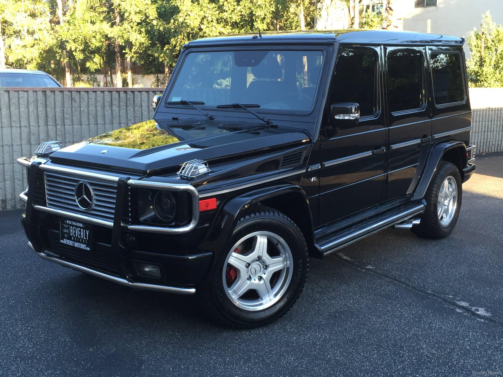 2003 mercedes benz g55 amg designo black on black for sale for Mercedes benz g class black
