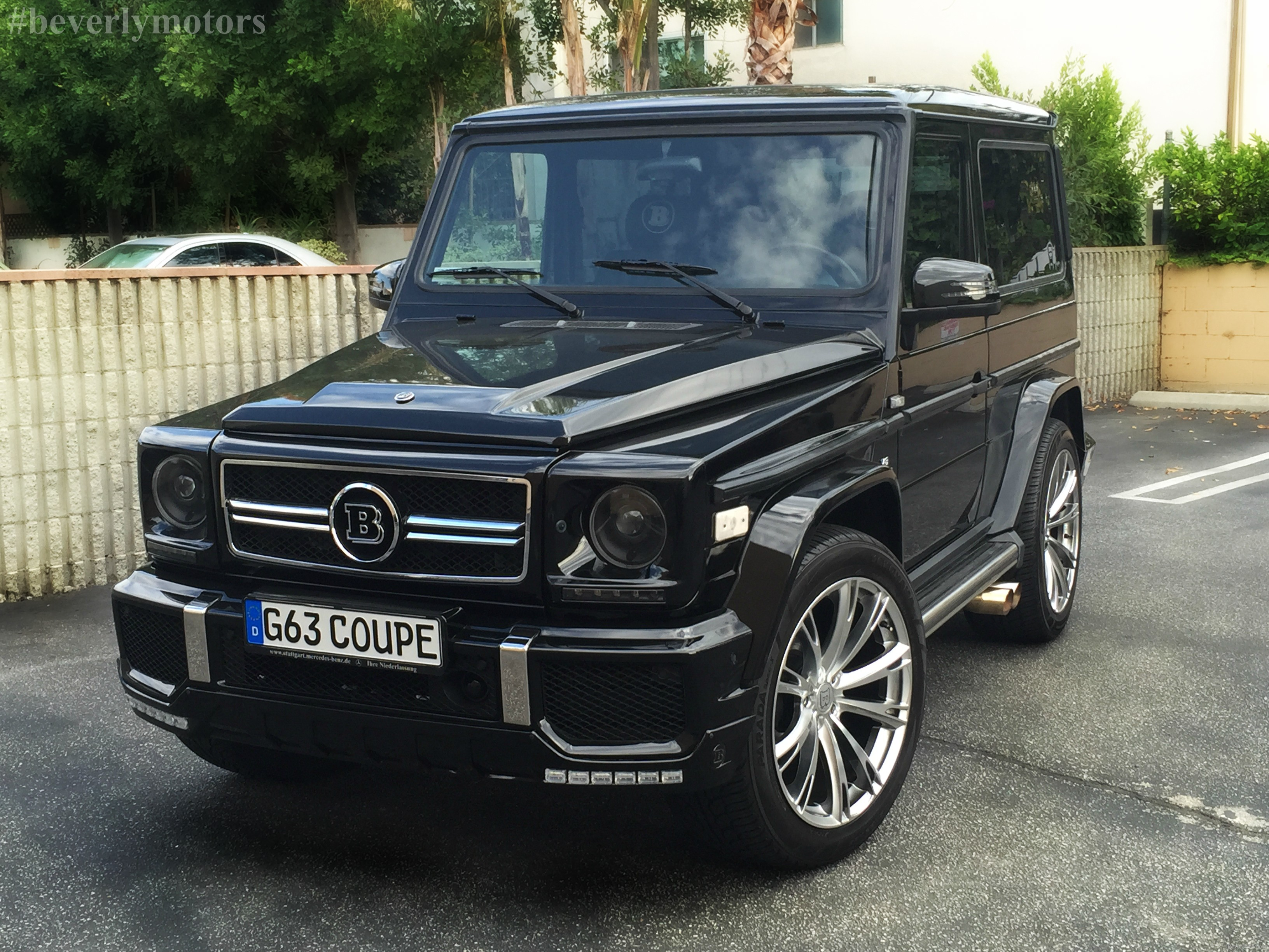 Beverly motors inc glendale auto leasing and sales new for Mercedes benz g class brabus