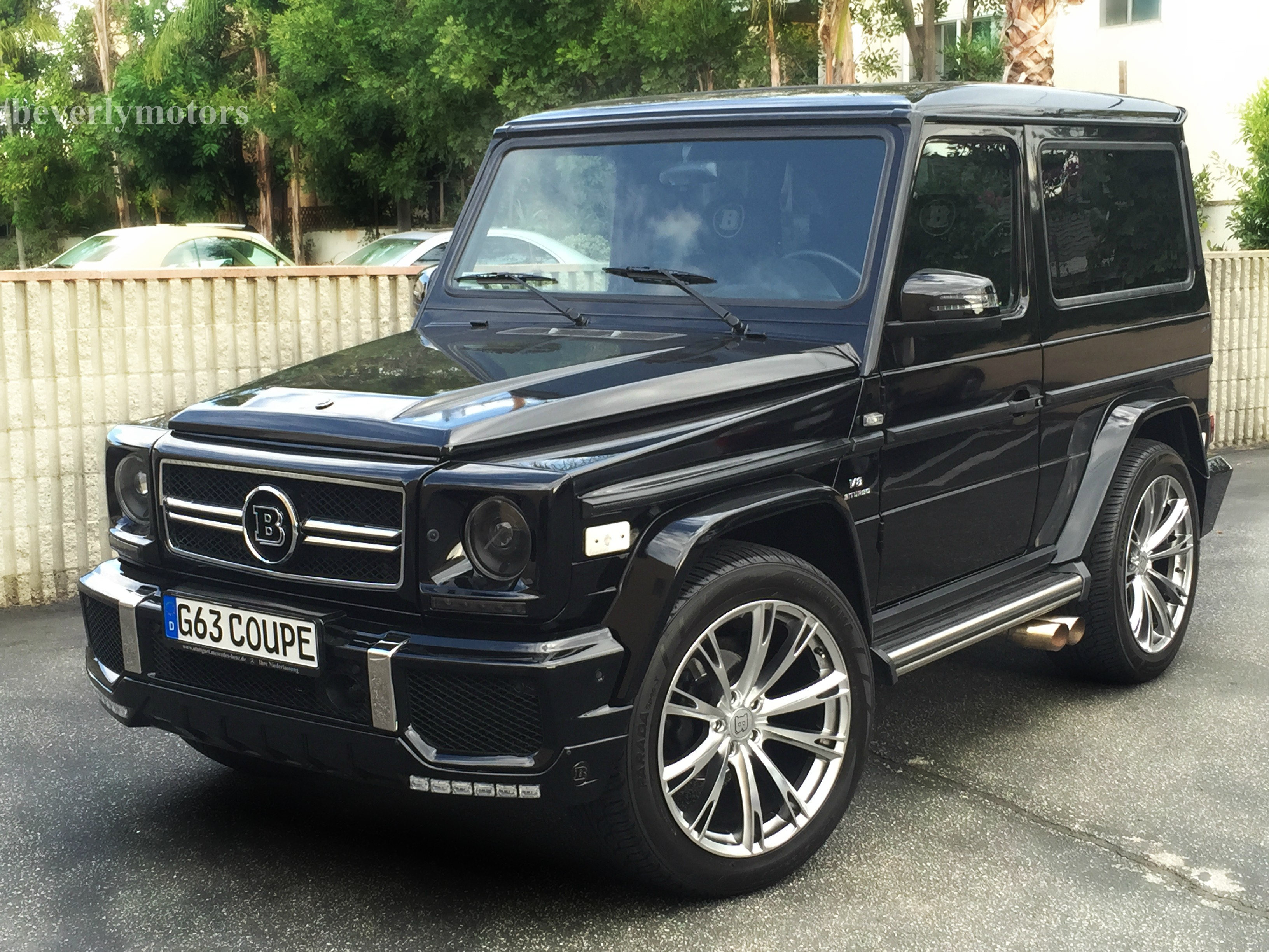 2001 mercedes benz g320 coupe g63 brabus black on black g55 g550 amg. Black Bedroom Furniture Sets. Home Design Ideas