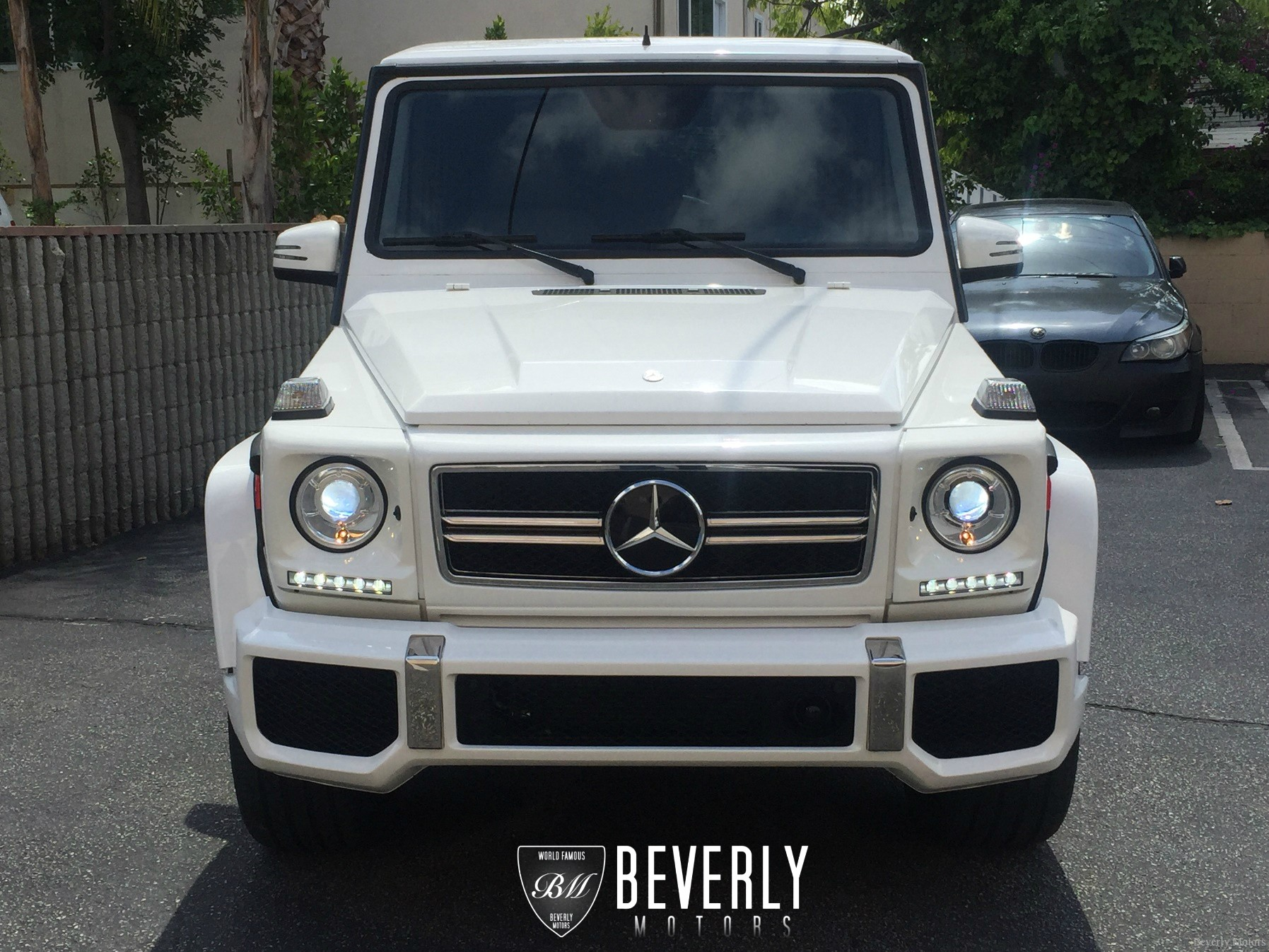 2003 mercedes benz g500 g63 white on gray for sale. Black Bedroom Furniture Sets. Home Design Ideas
