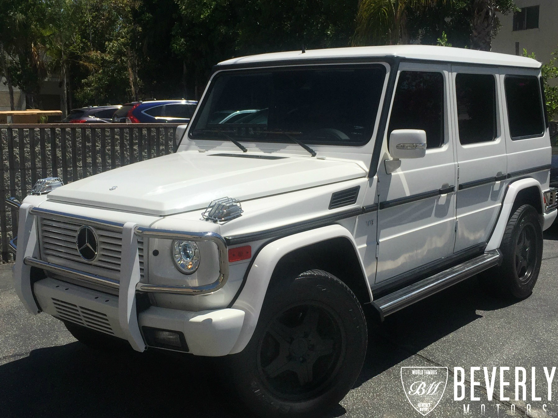 2003 mercedes benz g500 g63 g550 g55 g class amg g wagen white