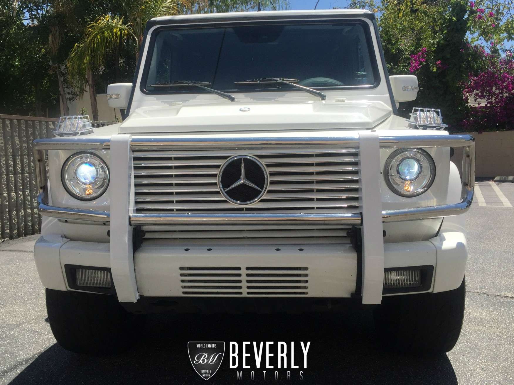 2003 mercedes benz g500 white on gray for sale beverly. Black Bedroom Furniture Sets. Home Design Ideas