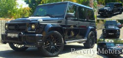2004 Mercedes-Benz G55 Black G55 G550 AMG Brabus Widestar Gwagon WALD Black Bison Hamann G class For Sale (00)