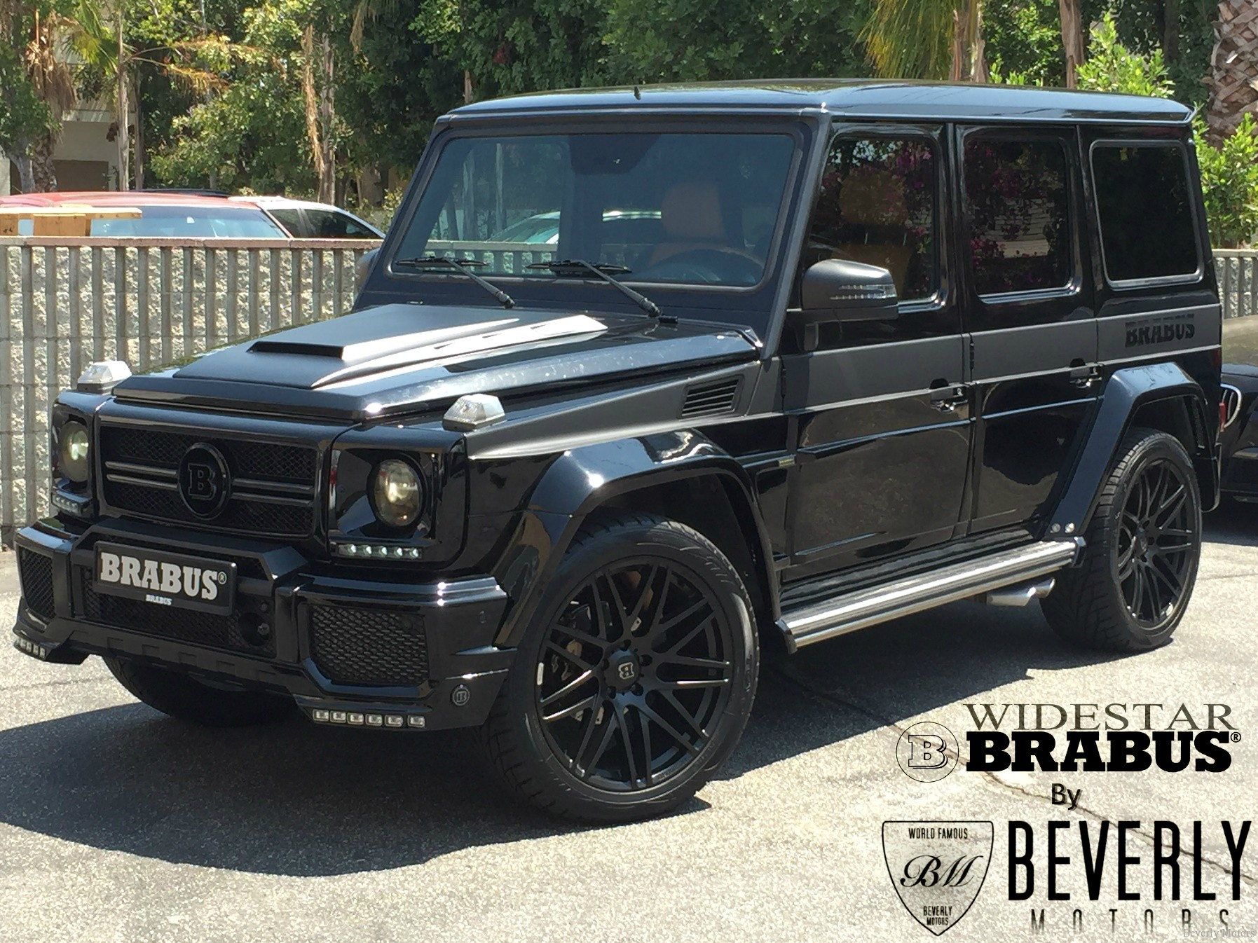 2004 mercedes benz g55 amg brabus widestar edition for Mercedes benz g class amg