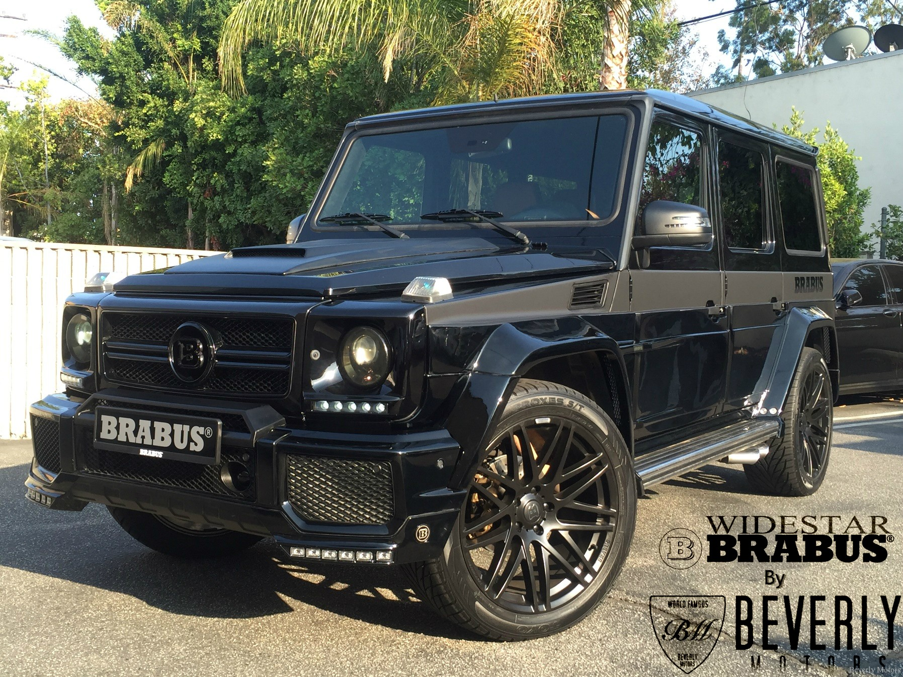 2004 mercedes benz g55 amg brabus widestar edition for Mercedes benz g class amg for sale