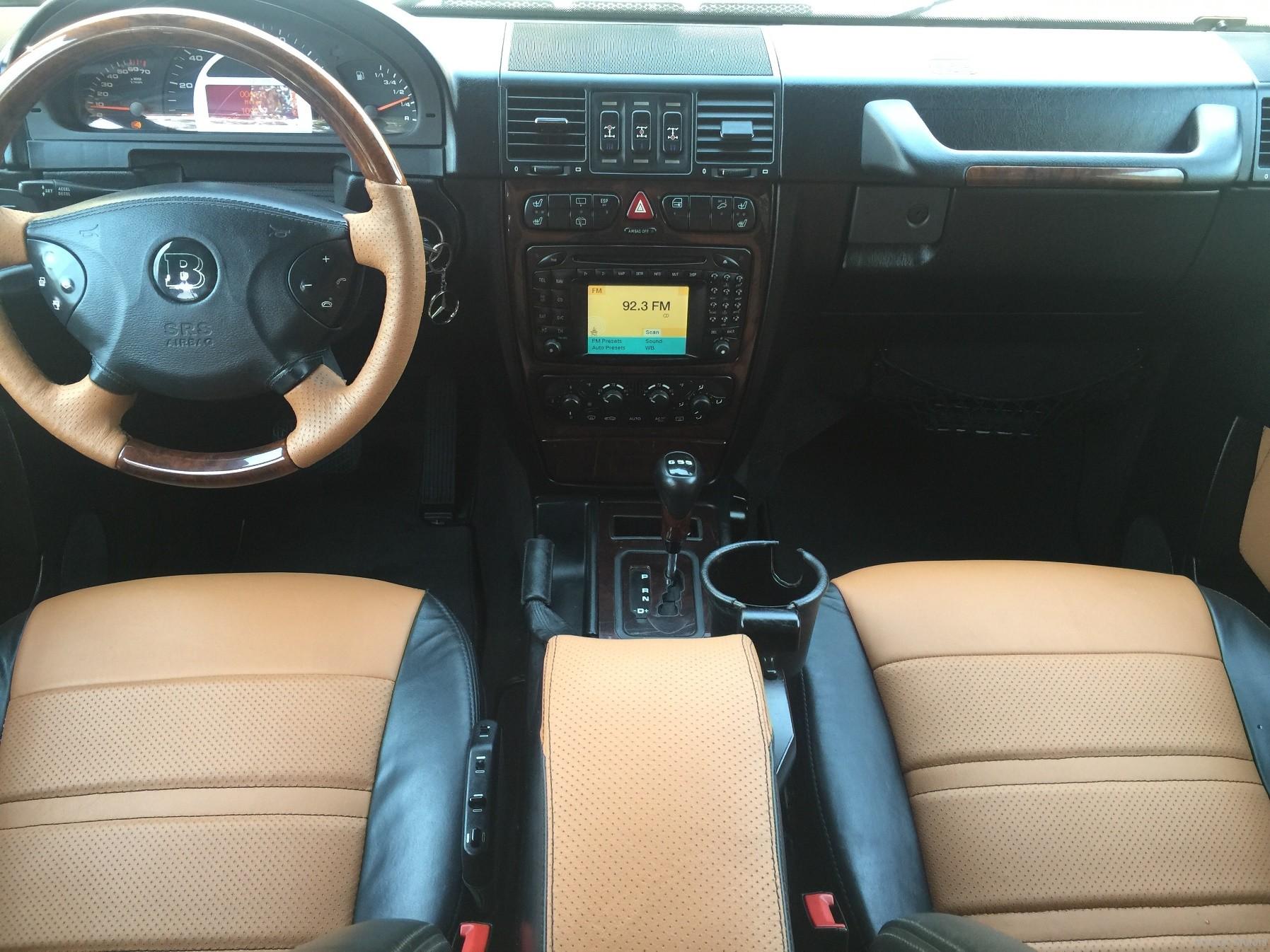 2004 mercedes benz g55 black g55 g550 amg brabus widestar gwagon wald black bison hamann - Mercedes G Class 66