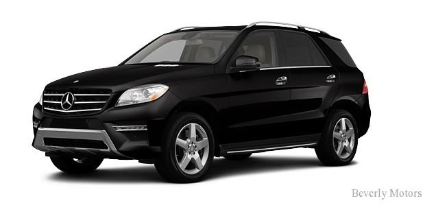 2013-Mercedes-Benz ML350 BlueTec AWD Lease-Finance Specials